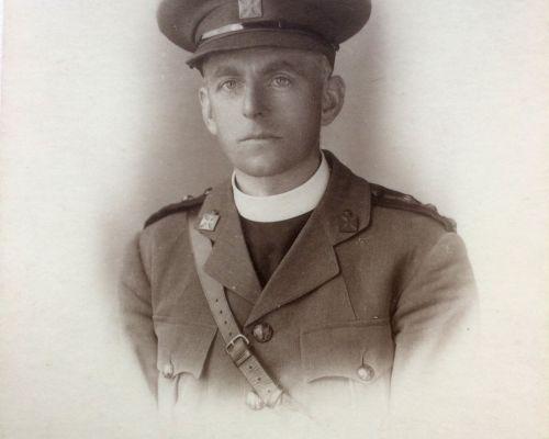 Bennett Maxwell Banks in Army Uniform 1918