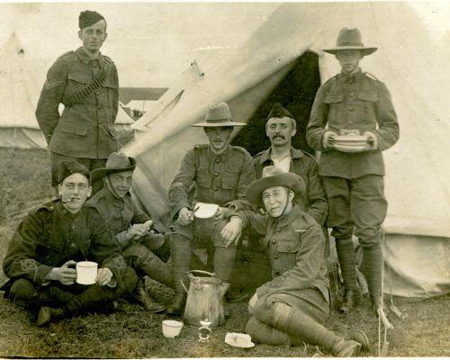 B M Banks at Bridestowe, Devon, (with Prince Of Wales Volunteers ?) 1906