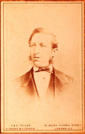 Henry Copeland - an early photo