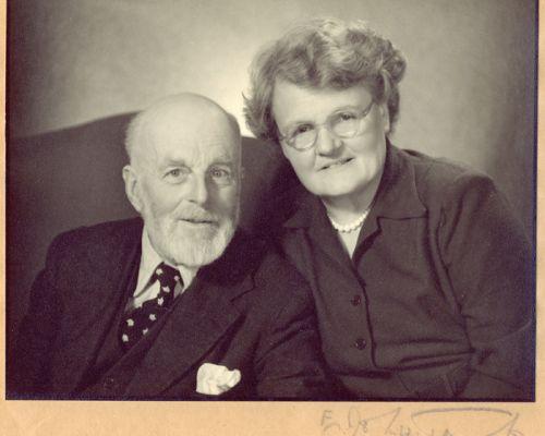 Bennett and Kitty Banks Christmas 1951