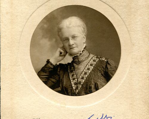 Mary Tubbs - Bennett's Headmistress at Alton Preliminary School.